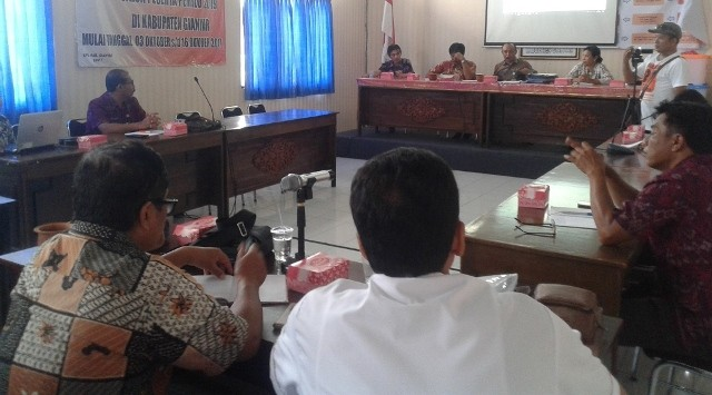 Puluhan PNS dan Anggota Polri di Gianyar Dijadikan Anggota Parpol