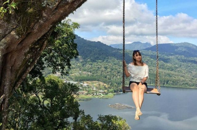 Puncak Wanagiri Tempat Cantik yang Instagramable, Ini Foto-fotonya
