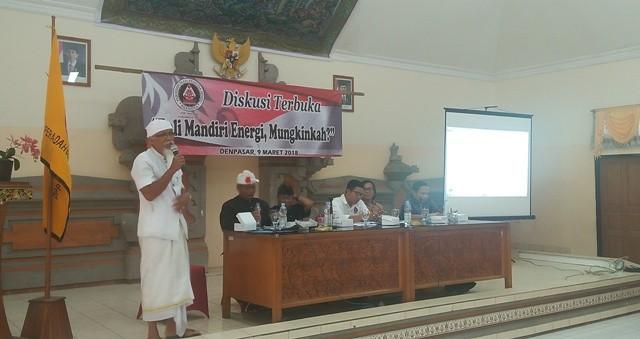 Mahasiswa dan Pemuda Tolak SUTET Masuk Bali