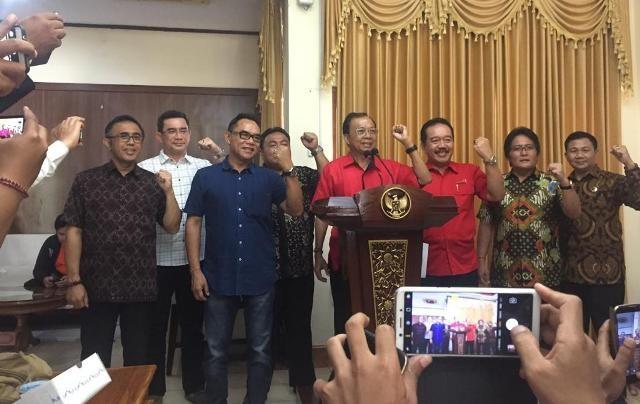 Koster Stop Reklamasi Teluk Benoa, Ini Kata Ketua DPRD Bali