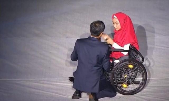 Komitmen Jokowi Meramahkan Para Difabel Indonesia