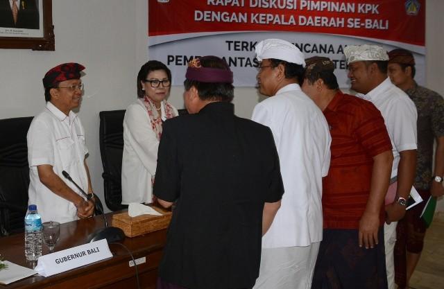 KPK Kawal Penerapan PHR Online di Bali
