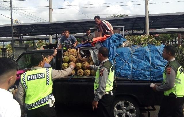 Mau Dibawa ke Jawa, Motor Curian Ditimbun Durian