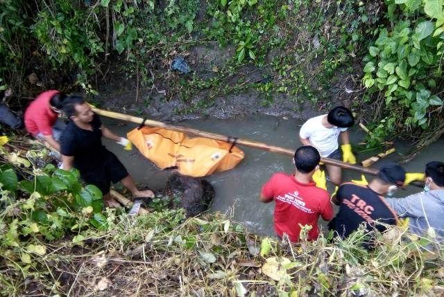 Usai Tanam Jagung, Petani Temukan Mayat Busuk di Tukad Miah