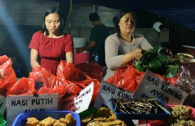 Wisata Kuliner Malam di Pasar Kreneng, dari Jinggo hingga Babi Guling