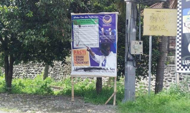 Bawaslu Investigasi Perusakan APK di Klungkung