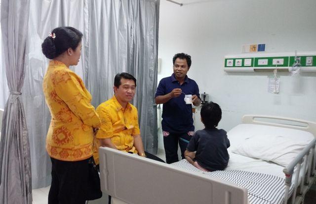 Rawat Anak di RS Sanglah, Sahabat Bupati Klungkung Kehabisan Uang