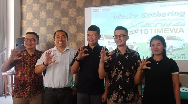 Grand New Daihatsu Xenia Dikenalkan di Bali