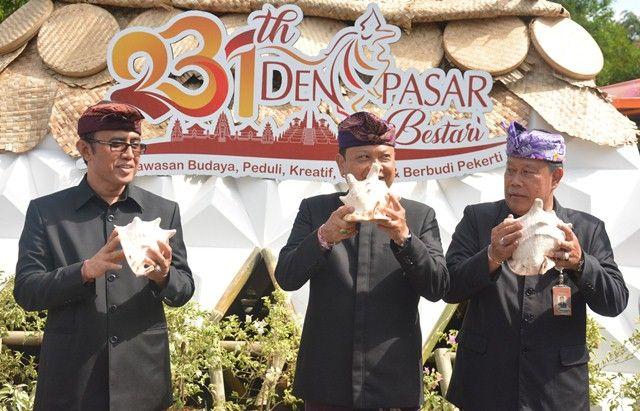 HUT ke-231 Kota Denpasar, Walikota Rai Mantra Launching 7 Inovasi OPD