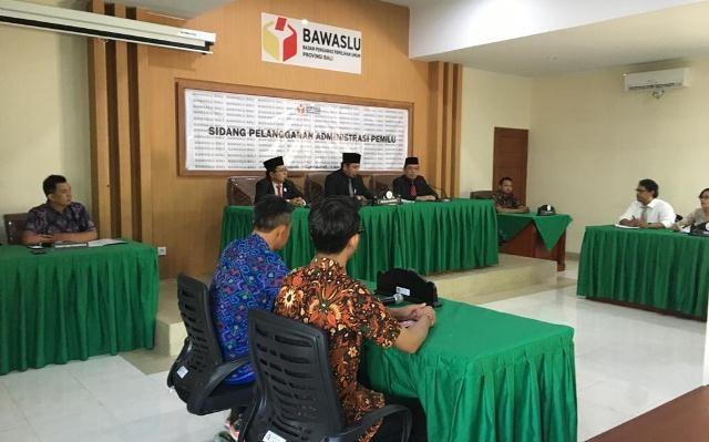 Melanggar, Empat Calon Wakil Rakyat Disanksi Teguran