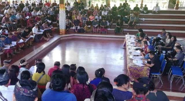 Desa Adat se-Bali Pertanyakan soal Pemberdayaan