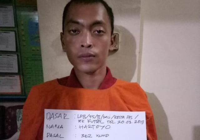Curi Uang Bule, Cleaning Servis Asal Klaten Diamankan Polsek Kutsel