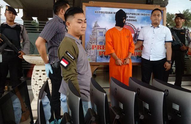 Polres Badung Bekuk Pelaku Skimming Rumania, Terkoneksi ke Tiongkok