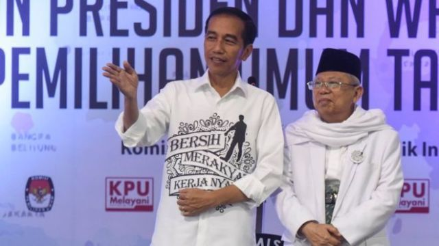 Elektabilitas Jokowi – Ma'ruf Tetap Unggul Pasca Debat Cawapres