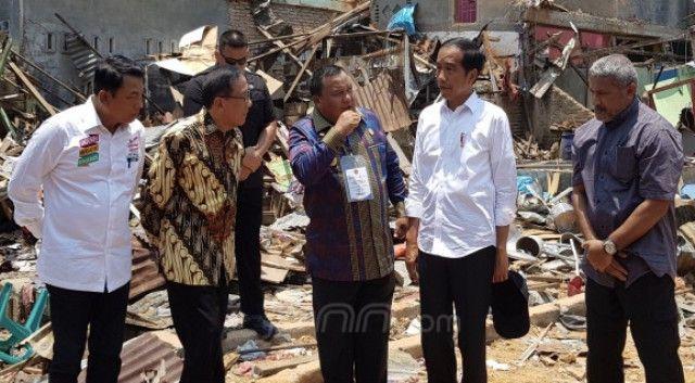 Jokowi akan Bangun Rumah Rusak Akibat Bom di Sibolga