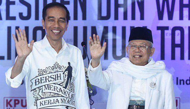 Bidik Suara di Sumatera dan Banten, Jokowi – Ma'ruf Sebarkan Optimisme