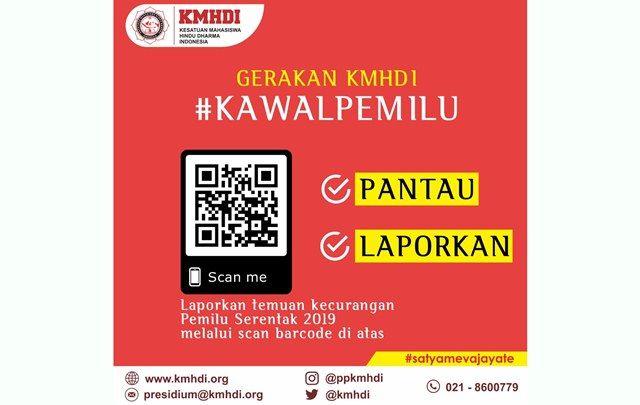Jadi Relawan Pemantau, KMHDI Siap Kawal Pemilu Serentak 2019