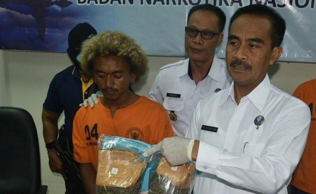 Kurir Narkoba Jaringan Medan-Bali Ditangkap