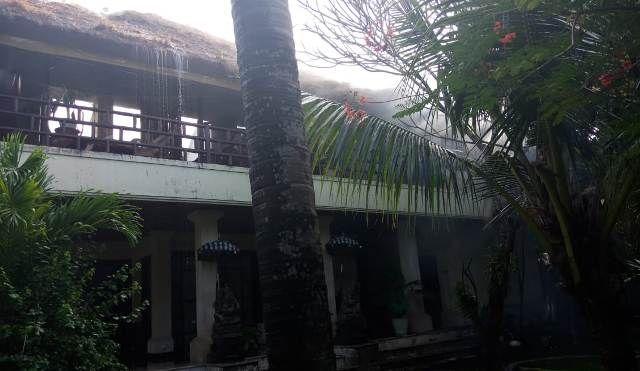Korsleting, Bangunan Vila Di Sanur Hangus Terbakar