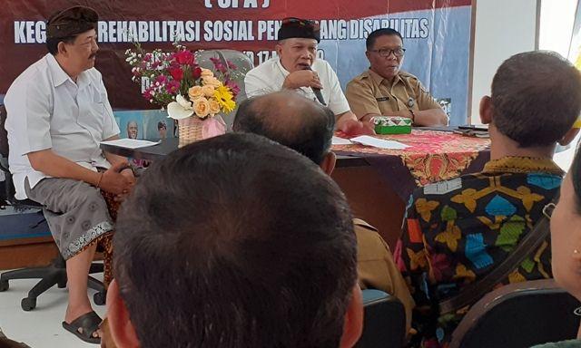 Hapus Stigma Tak Berdaya, Dinsos Bali Gelar Pelatihan SPA Disabilitas