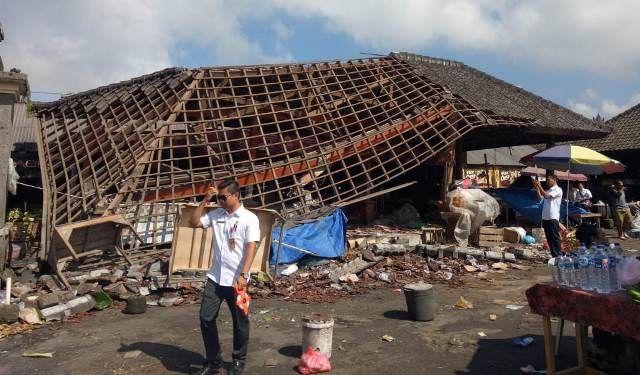 Rp 4 Miliar untuk Revitalisasi (Lagi) Pasar Baturiti
