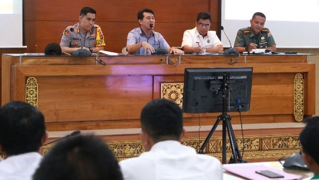 Tim Desk Wiltas dan PPKT Kemenkopolhukam Kunjungi Nusa Penida