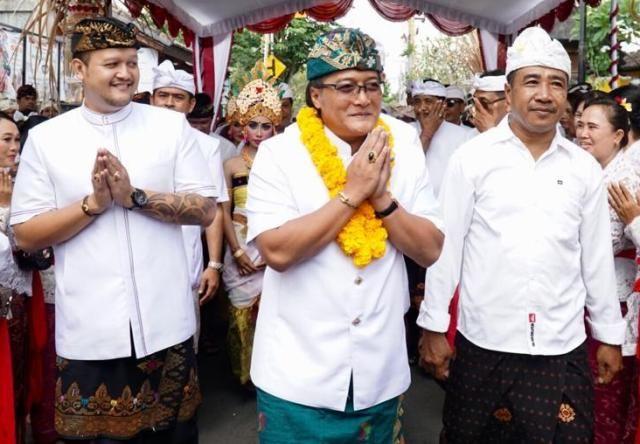 Bupati Giri Prasta Hadiri Karya Banjar Batuculung
