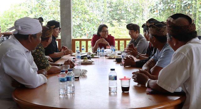 Jaga Situs Kuno, Bupati Giri Prasta Terima Pengurus Yayasan BPJ