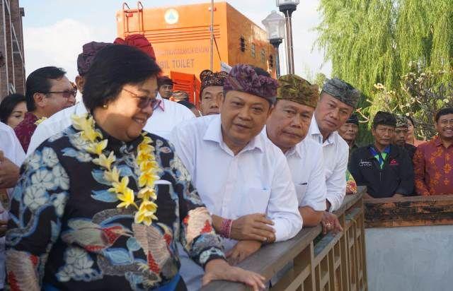 Menteri LHK RI Apresiasi Revitalisasi Tukad Badung