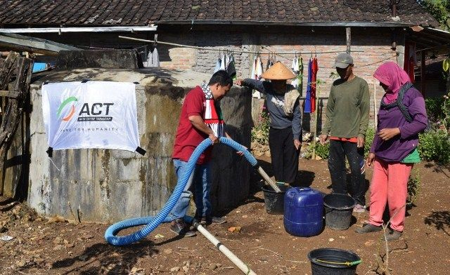 Darurat Kekeringan di Jawa, ACT Siap Pasok Air Bersih
