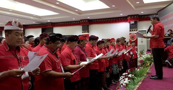 Koster Pimpin PDIP Bali Lagi