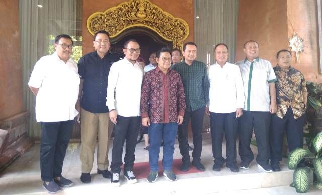 Pilih Bali Jadi Lokasi Muktamar PKB, Cak Imin Sowan ke Koster