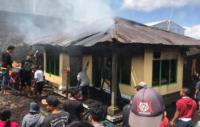 Ditinggal Bekerja,  Rumah Warga Kintamani Ludes Terbakar