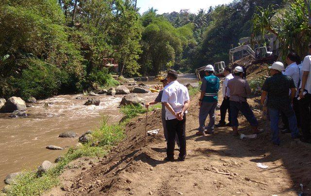 Uruk Sungai Ayung, Dinas Perizinan Tinjau Pembangunan Hotel
