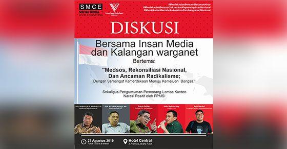 SMCE Gelar Diskusi Dengan Kalangan Warganet