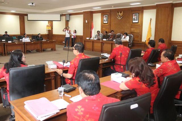 Komisi IV dan OPD Bahas Persiapan Badung Tuan Rumah Porprov 2021