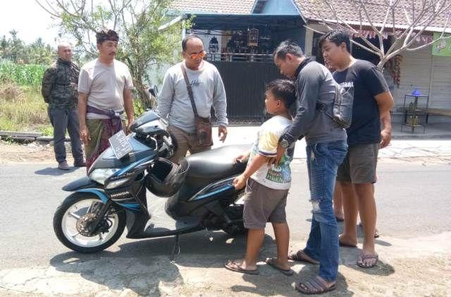 Jatuh dari Sepeda, Siswa SD di Saba Hendak Diculik