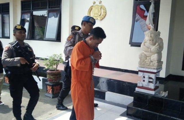 TO Pengedar SS Asal Klungkung Ditangkap di Bangli