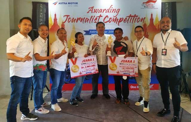 Bali Express Raih Juara Pertama, Journalist Competition Astra Motor