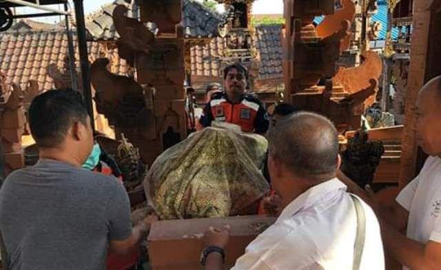 Balian di Denpasar Ditemukan Tak Bernyawa Saat Semedi di Merajannya