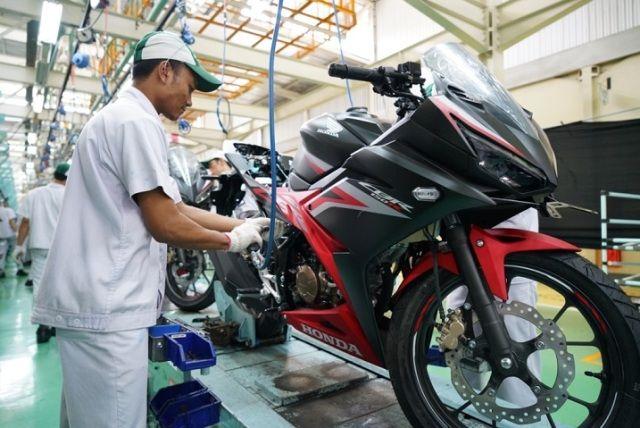 New Honda CBR150R Tampilkan Desain Anyar