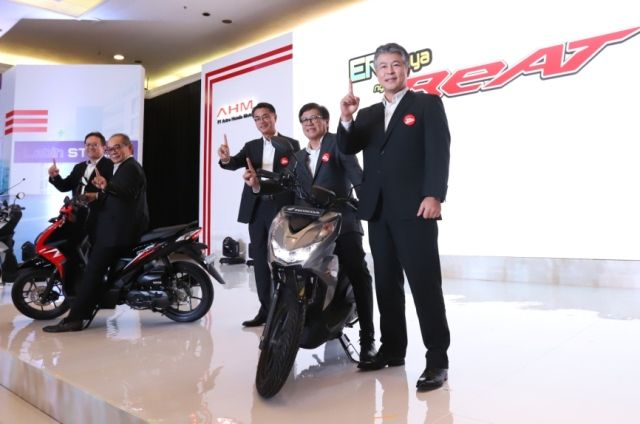 AHM Luncurkan All New Honda BeAT Series, Berlimpah Teknologi Baru