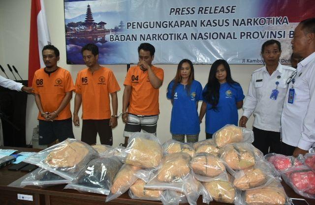 BNNP Bali Ungkap Sindikat Narkotika Jaringan Lapas Karangasem