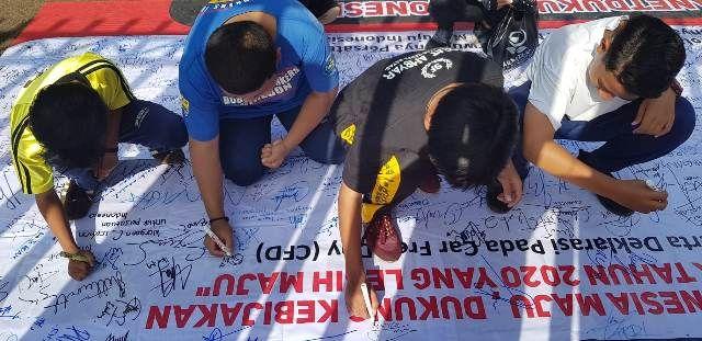 FPMSI Sukses Ajak Masyarakat Posting Konten Positif  di CFD Cirebon