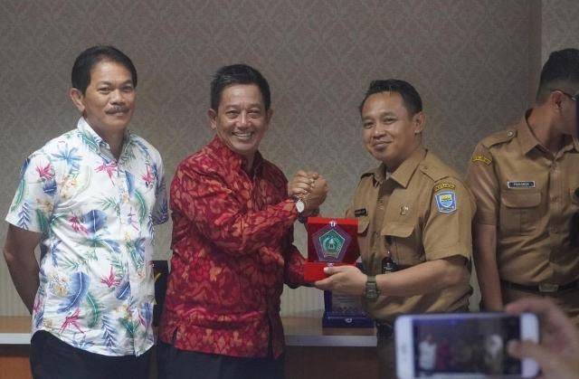 Humas Setda Jembrana Kunjungi Pemkot Bandung, Tingkatkan Kompetensi