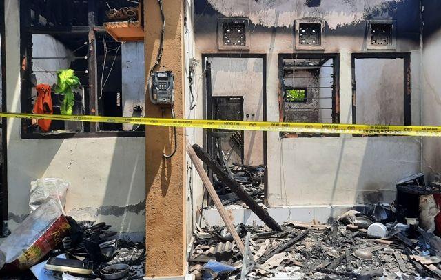 Sembilan Kamar Kos di Pemecutan Terbakar, Kerugian Capai Miliaran
