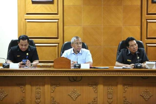 Bahas E-hibah, DPRD Badung Rapat Bareng Eksekutif