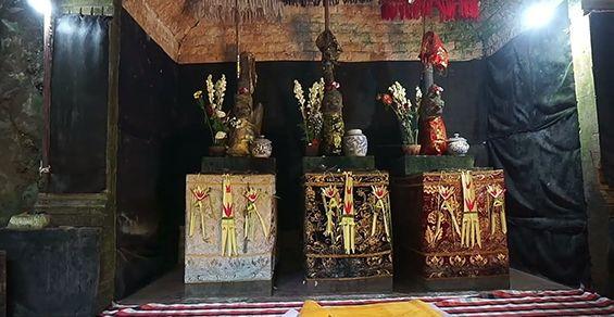 Pura Goa Raja, Tiga Naga Penjaga Unsur Inti Bumi