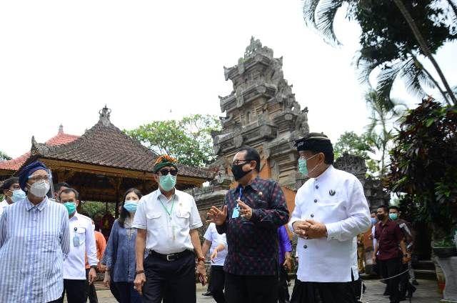 Cok Ace Klaim Menlu dan Menkumham Beri Apresiasi Prokes di Bali