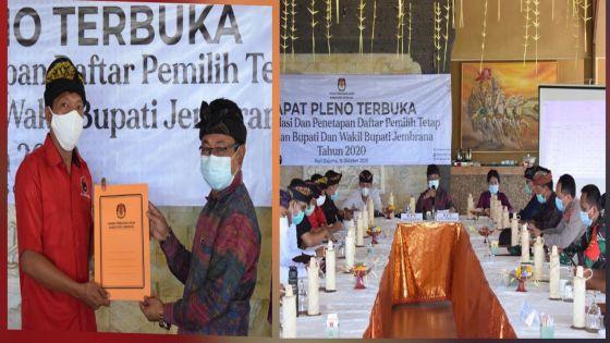 Pleno DPT Pilkada Jembrana, KPU Optimis Target Pemilih